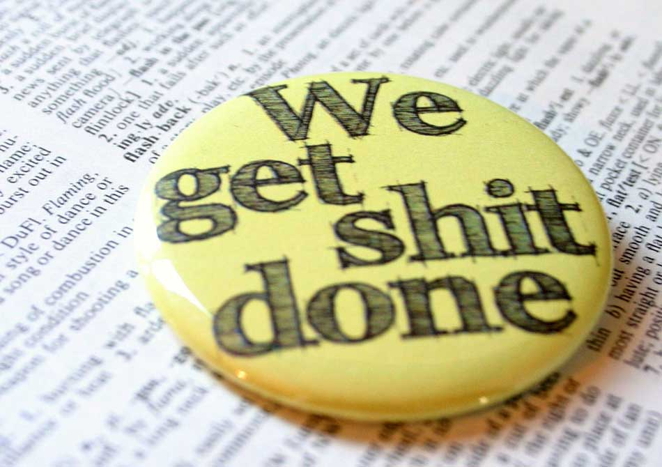 Get Things Done Monday Motive GSD-button